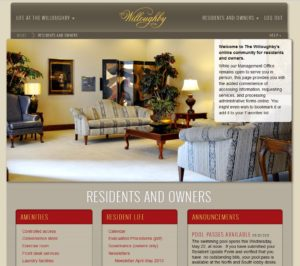 Residents Page